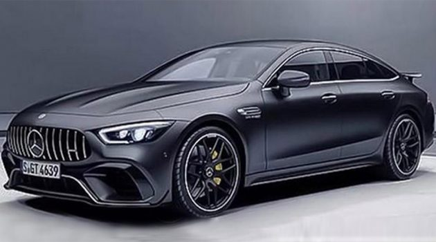 日内瓦车展: Mercedes-AMG GT 4-Door Coupe 提前曝光!