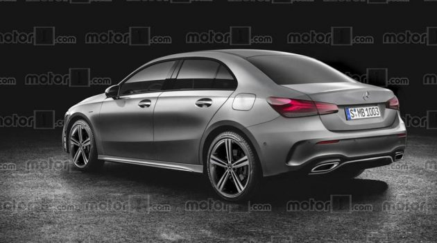 Mercedes-Benz A-Class Sedan 现身纽柏林赛道!