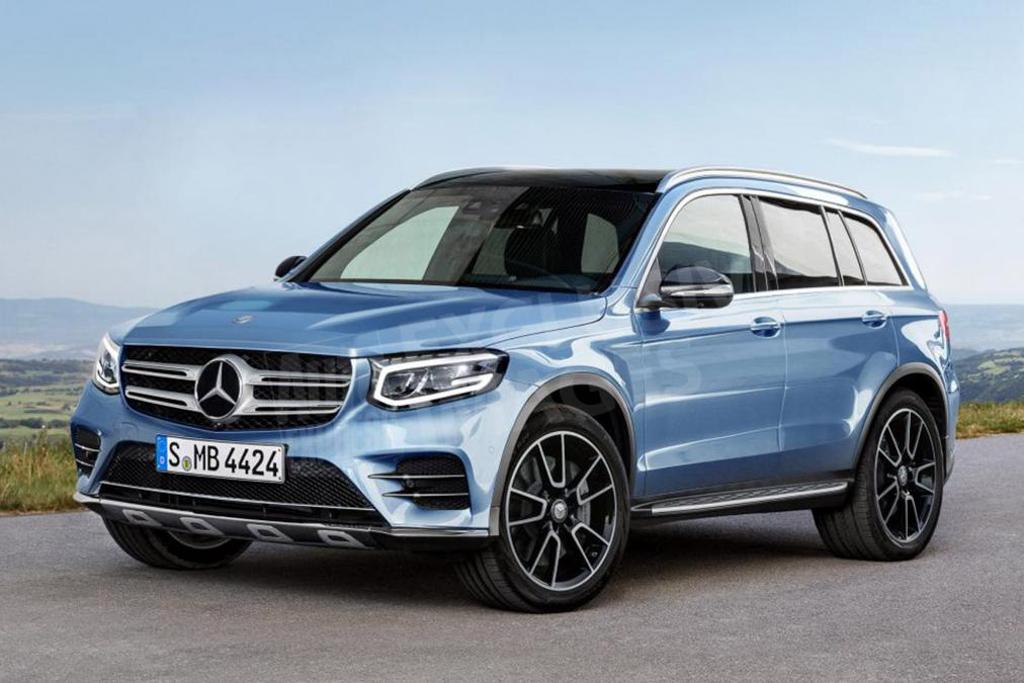 Mercedes-Benz GLB 外形曝光!或备有7人座!