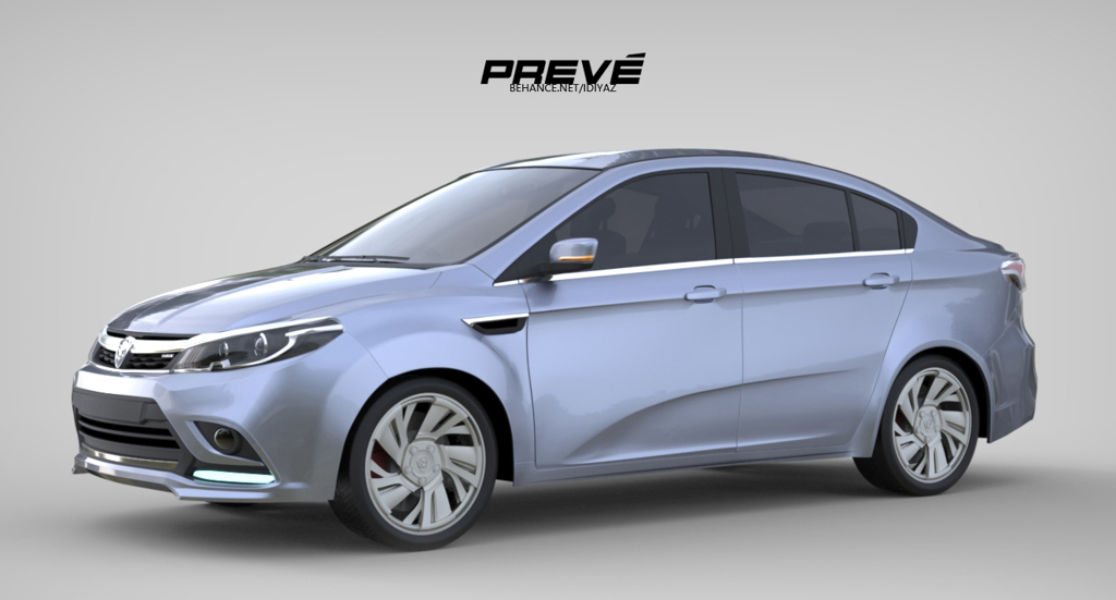 Proton Preve Facelift >> Proton Brand New Persona 会长这个样子? | automachi.com