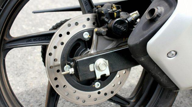 为什么很多 Kapzai 后轮都没有配备 Disc Brake ?