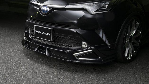 Toyota C-HR WALD 空力套件登场,神秘的黑武士!