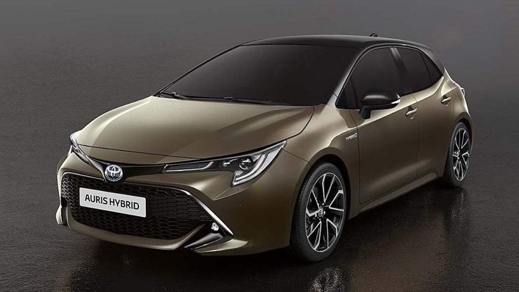 日内瓦车展: Toyota Corolla Hatchback 外形提前曝光!