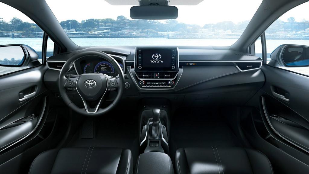 美规 Toyota Corolla Hatchback 现身,内装设计正式曝光!