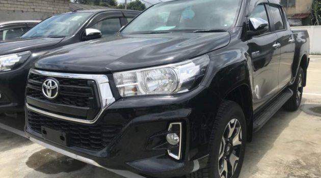 小改款 Toyota Hilux 实车现身大马!