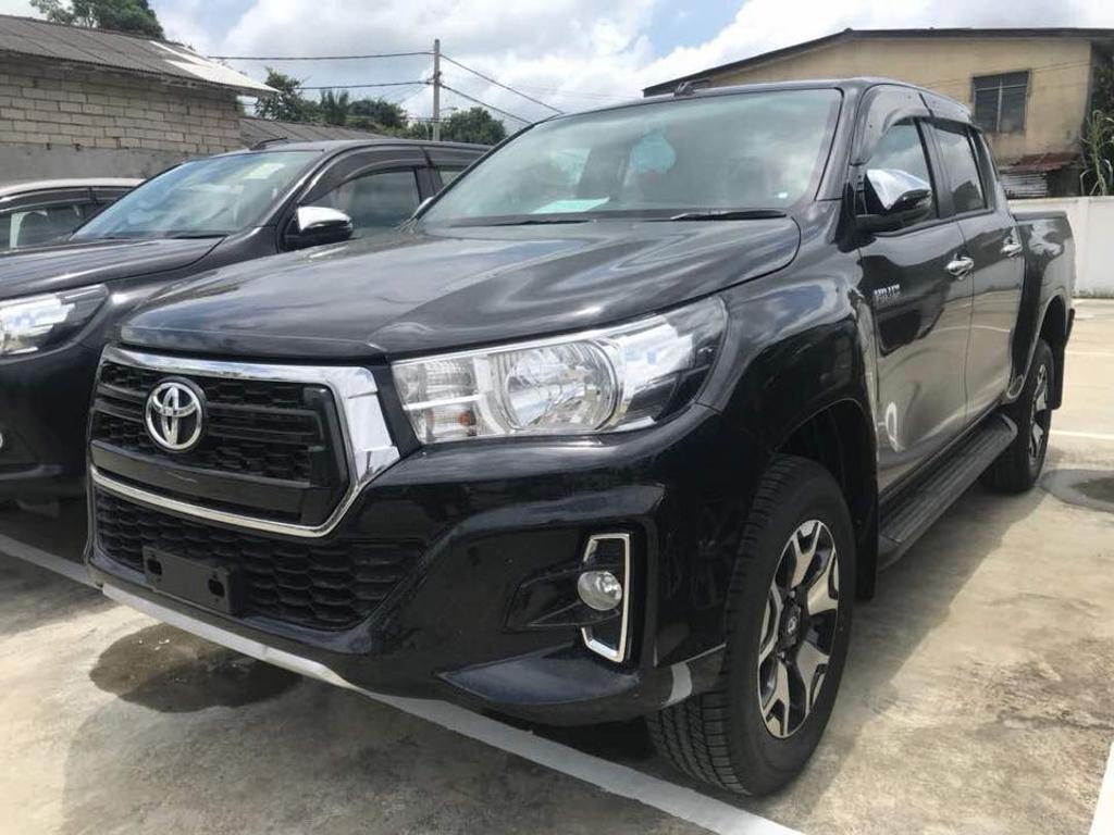 小改款 Toyota Hilux 实车现身大马! Automachi Com