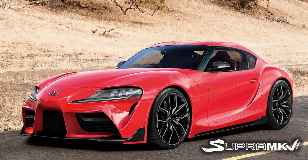 好真实! Toyota Supra 量产版会长这样?