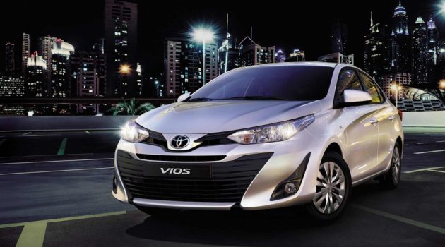 Toyota Vios 2018 台湾3月登场,预计年尾登陆我国!