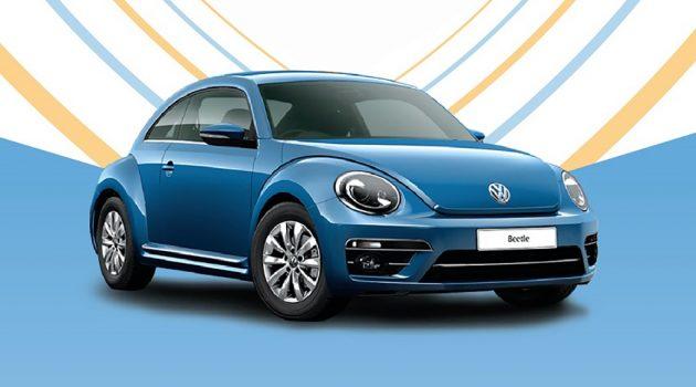 欢庆推出80周年,Volkswagen Beetle 明日举办生日派对!