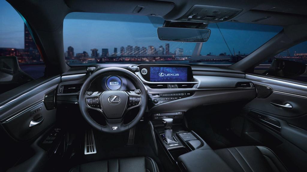 北京车展: 2018 Lexus ES 正式发表,F Sport 版本很帅气!