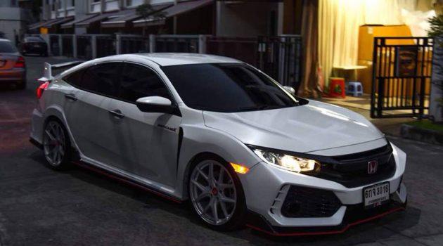 Honda Civic FC 空力套件,瞬间变身 Type R !