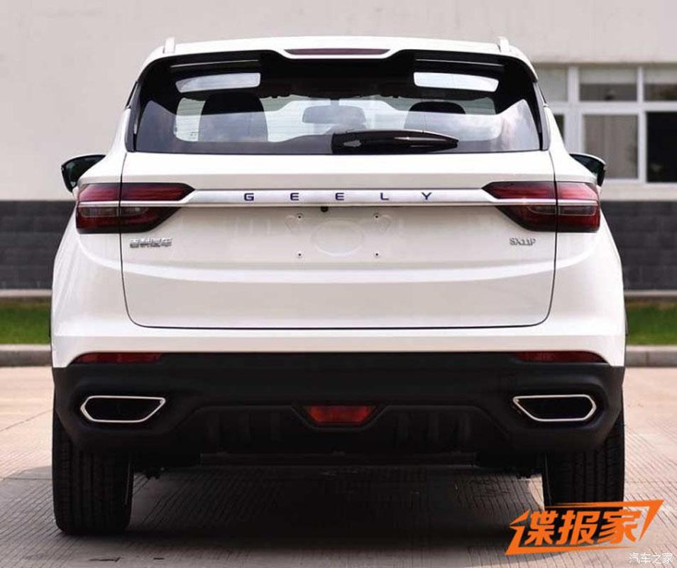 Geely SX11 Hybrid 申报图曝光!最大马力177 ps!