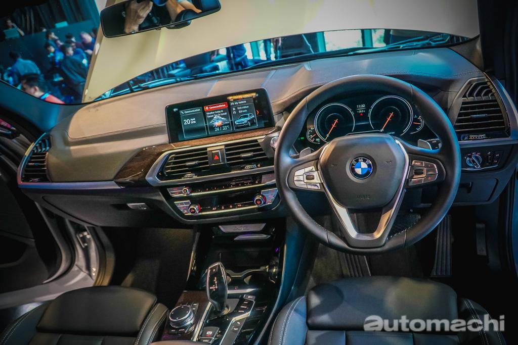 2018 BMW X3 正式发表,预计售价RM 320,000!