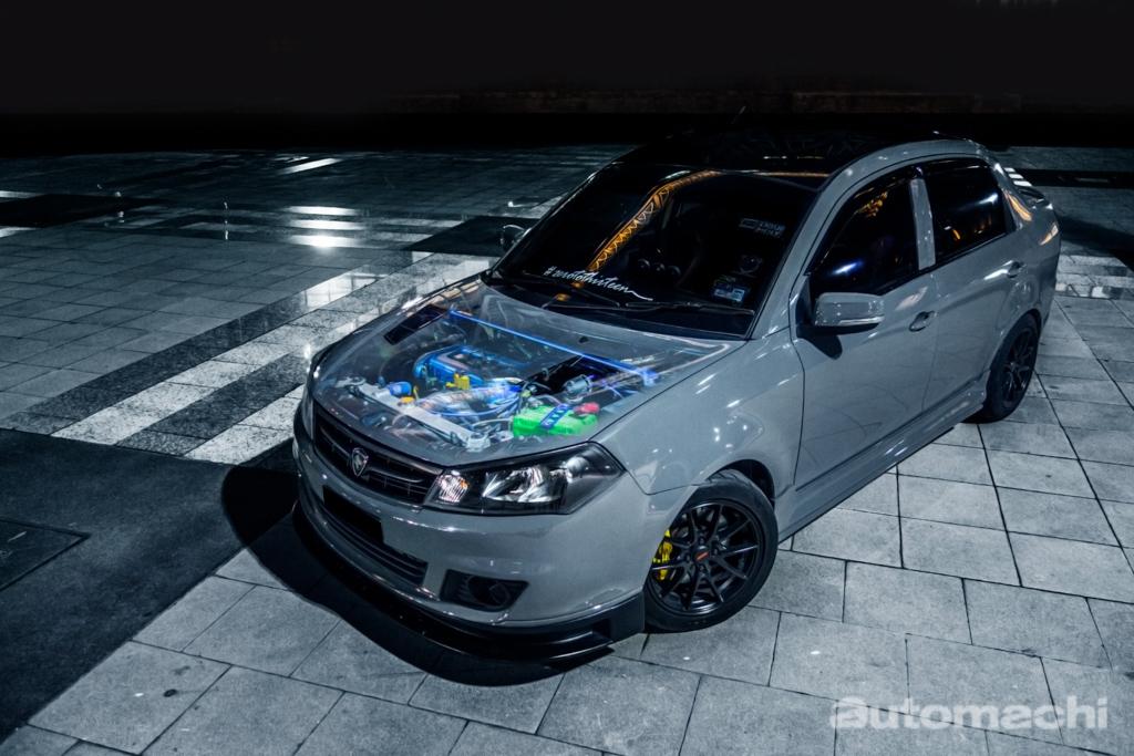 改装无罪:209 hp 的 Proton Saga FL !
