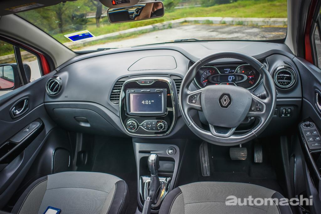 Renault Captur ,中规中矩的小型跨界!