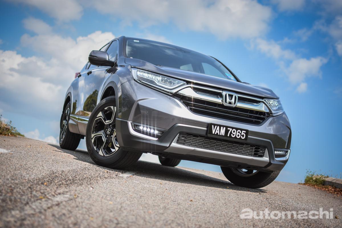 Honda CR-V TC 4WD ,一辆岳母不会拒绝的车!