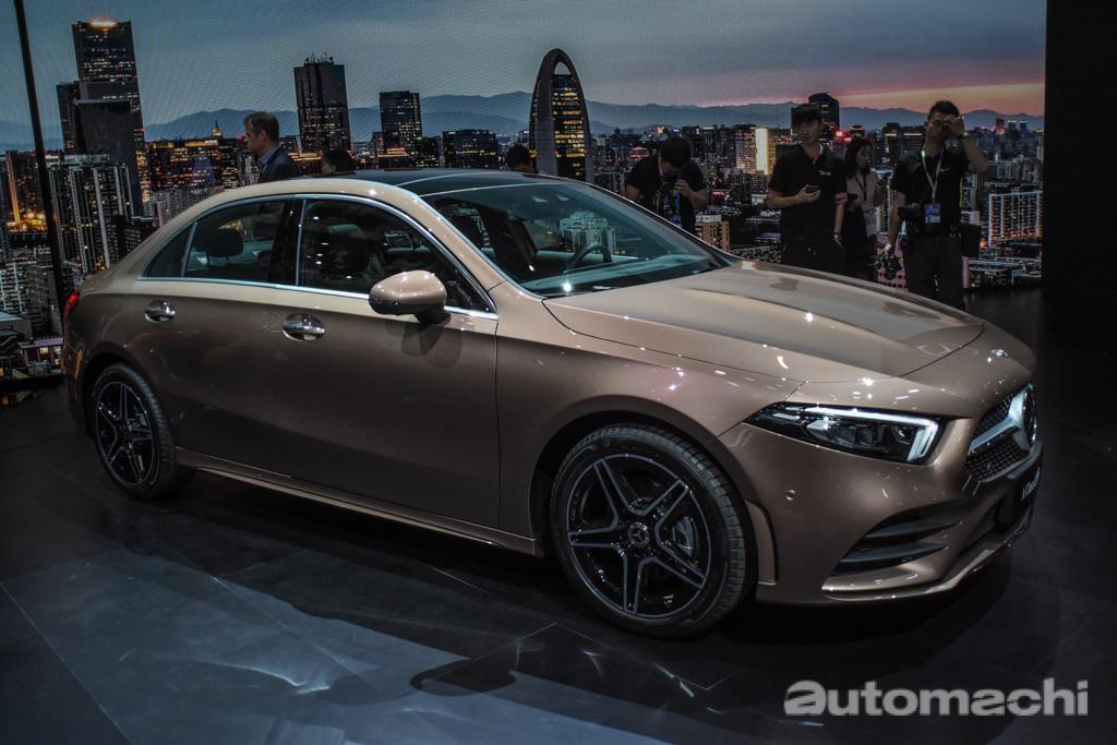 北京车展: 2018 Mercedes-Benz A200L 全球首发!