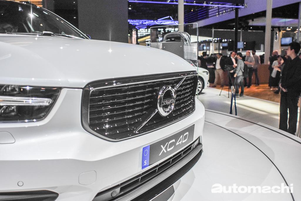 北京车展:Volvo XC40 T5 PHEV 全球首发!