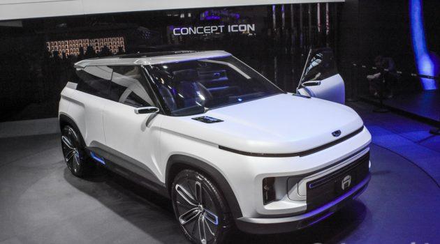 Geely Icon Compact SUV 概念车,抢占 HR-V 市场!