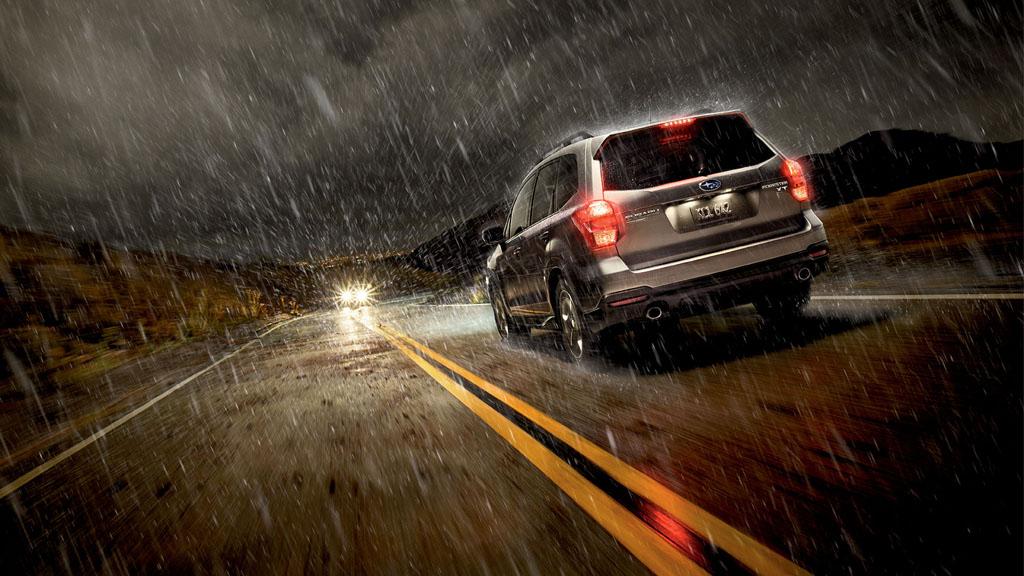 下雨天驾驶开 Double Signal 是否正确呢?