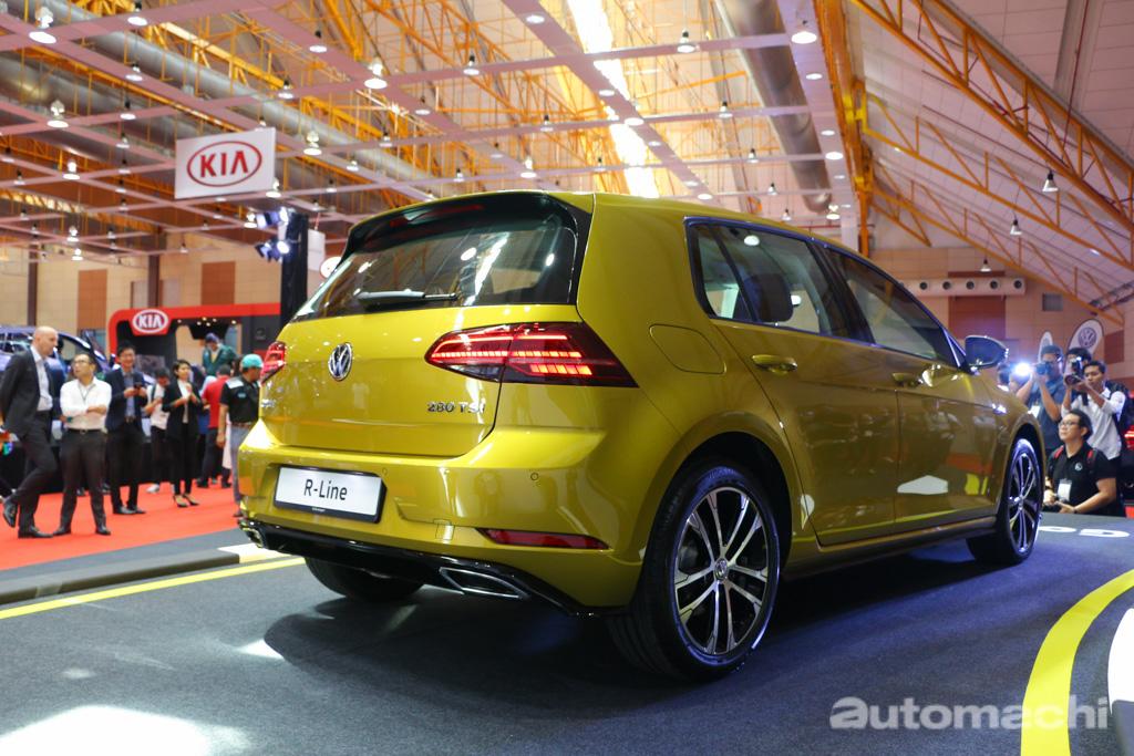 Malaysia Autoshow 2018 :Volkswagen Golf R-Line 登陆我国 !