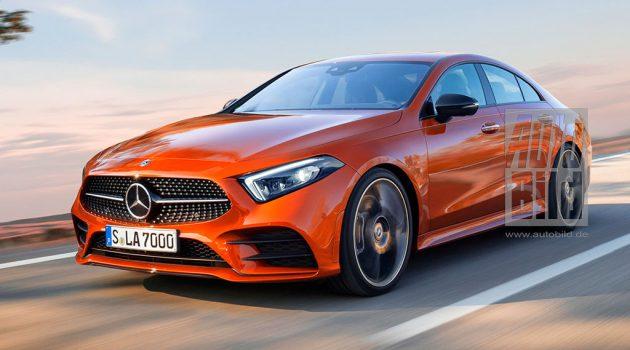 2019 Mercedes-Benz CLA 长这样?看看外媒预想图!