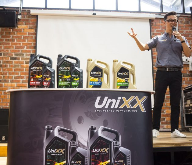 Contix Asia 正式推介 Unixx Engine Oil !