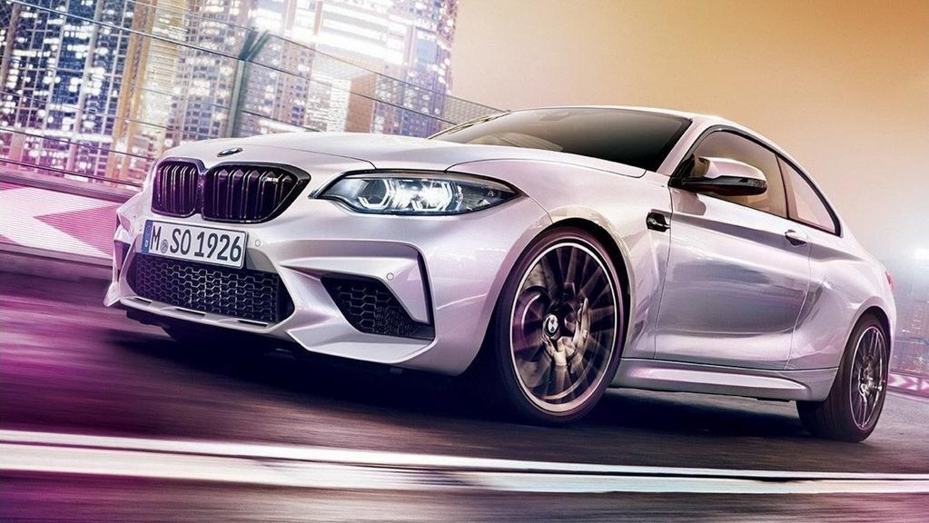 BMW M2 Competition 发布前夕泄露,最大马力 410 hp !