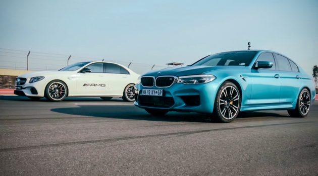 600 hp 大战, BMW M5 直线对决 Mercedes-AMG E63 S !