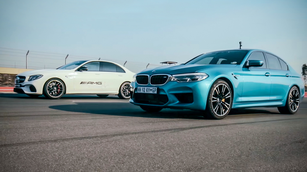 600 hp 之战, BMW M5 直线对决 Mercedes-AMG E63 S !