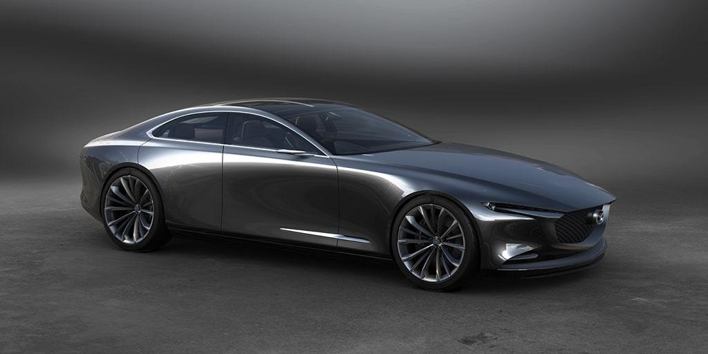 2019 Mazda6 专利曝光,直列6缸引擎+电控涡轮!