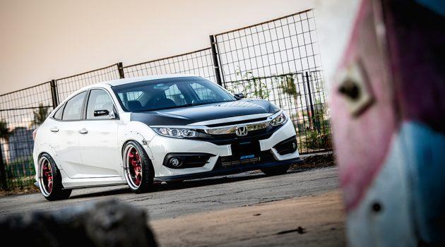 自挂涡轮比较帅!198 hp 的 Honda Civic FC 1.8 !