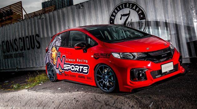 最强 NA Honda Jazz ,337 hp K系扩缸红头引擎上身!
