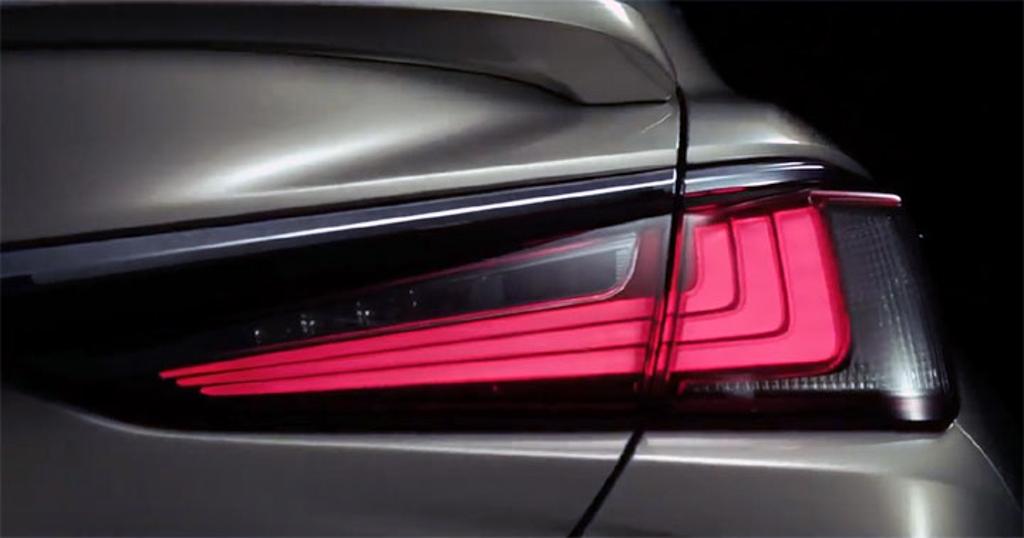 2019 Lexus ES 发表前夕,原厂正式公布外观样貌!