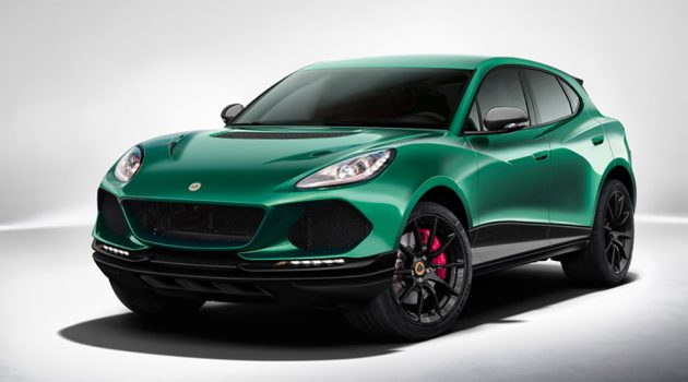 Lotus SUV 将变身豪华跨界性能休旅车!
