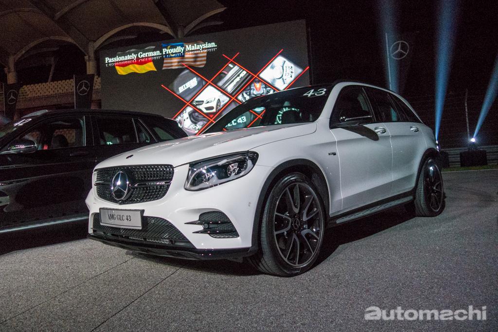 Mercedes-AMG 正式推介本地组装 C 43 与 GLC 43!