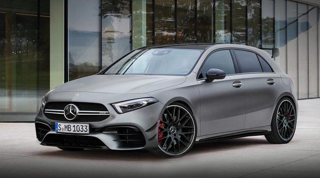 Mercedes-AMG A35 确定今年推出,最大马力突破300 hp!