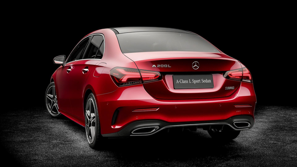 Mercedes-Benz A-Class Sedan 长轴版正式发布!
