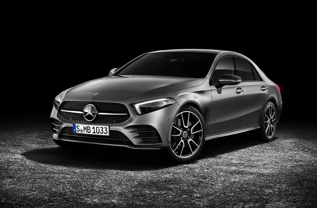Mercedes-Benz A-Class Sedan 确认北京车展登场!