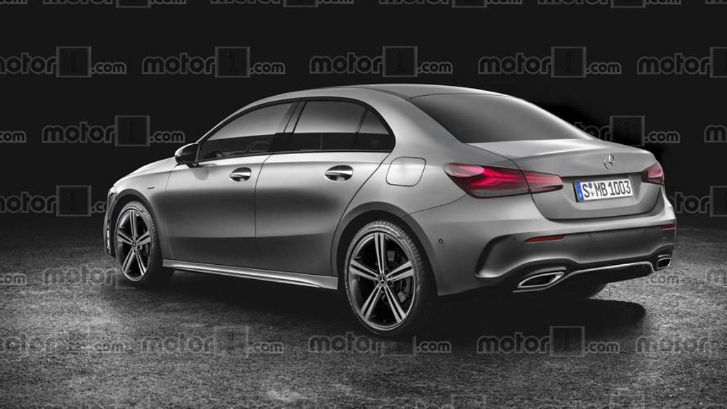 Mercedes-Benz A-Class Sedan 将现身北京车展!