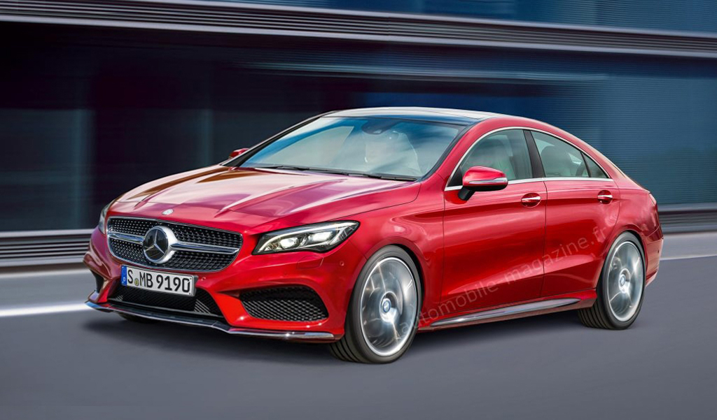 运动版 A-Class Sedan , Mercedes-Benz CLA 现身测试!