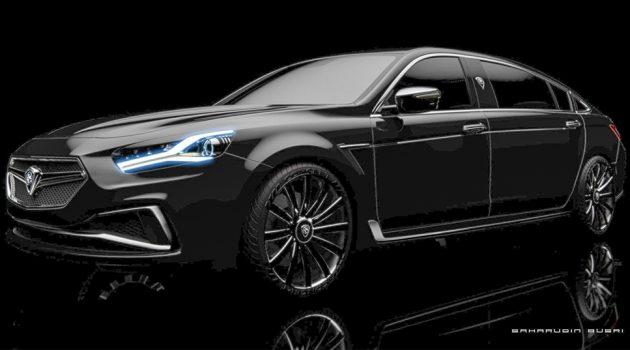 Proton Perdana Executive ,原厂新一代旗舰房车?