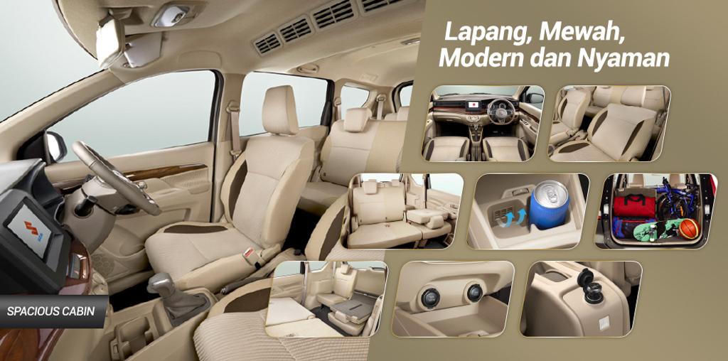 2018 Suzuki Ertiga 正式发表,空间更大配置更好!