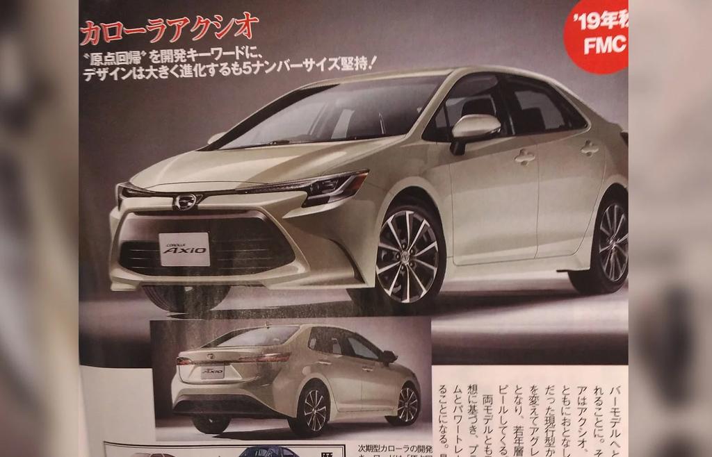 2019 Toyota Corolla Sedan 规格曝光!