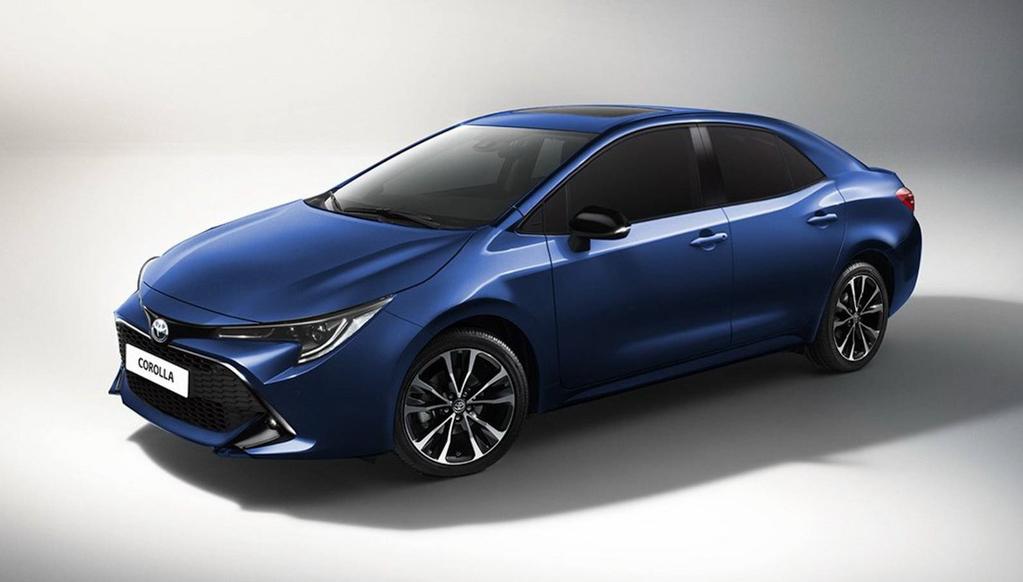 2019 Toyota Corolla 卸下伪装,再度现身测试!