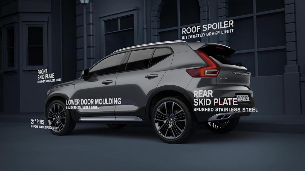 更显帅气! Volvo XC40 推出官方外观套件!