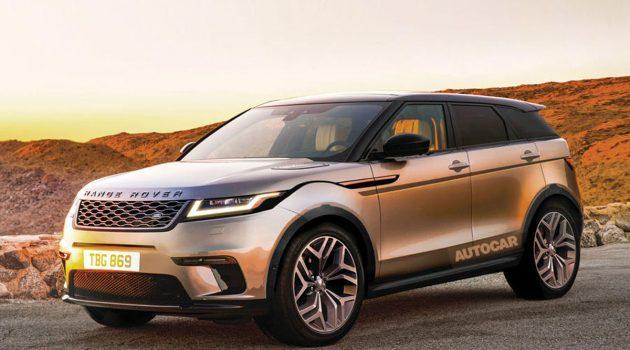 2019 Range Rover Evoque 10月登场,搭载全新世代涡轮引擎!