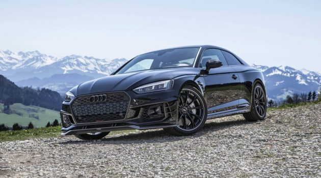 All Black Audi RS5-R ABT ,黑色的诱惑!