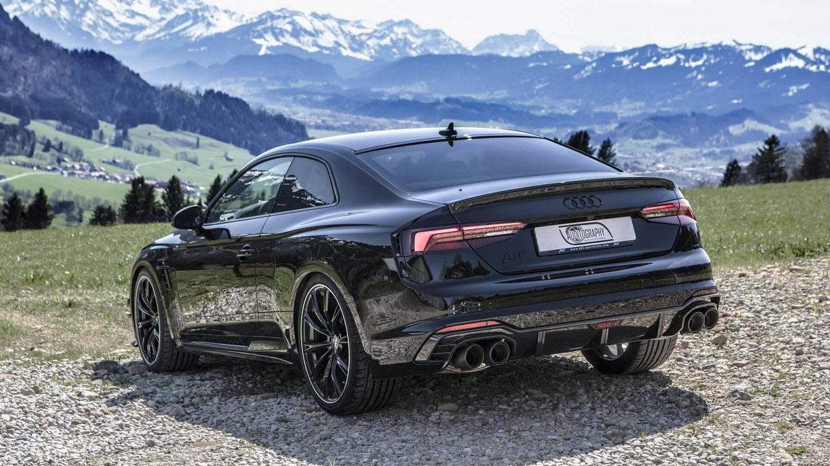 All Black Audi RS5-R ABT ,黑色的诱惑!
