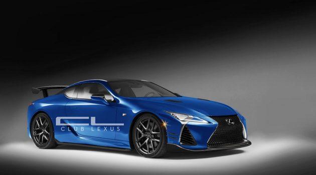 2019 Lexus LC F 现身美国,将在今年首发?